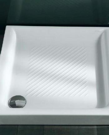 Ceramica Dolomite Piatto Doccia Onda.Piatto Doccia 80 80 Dolomite Oostwand