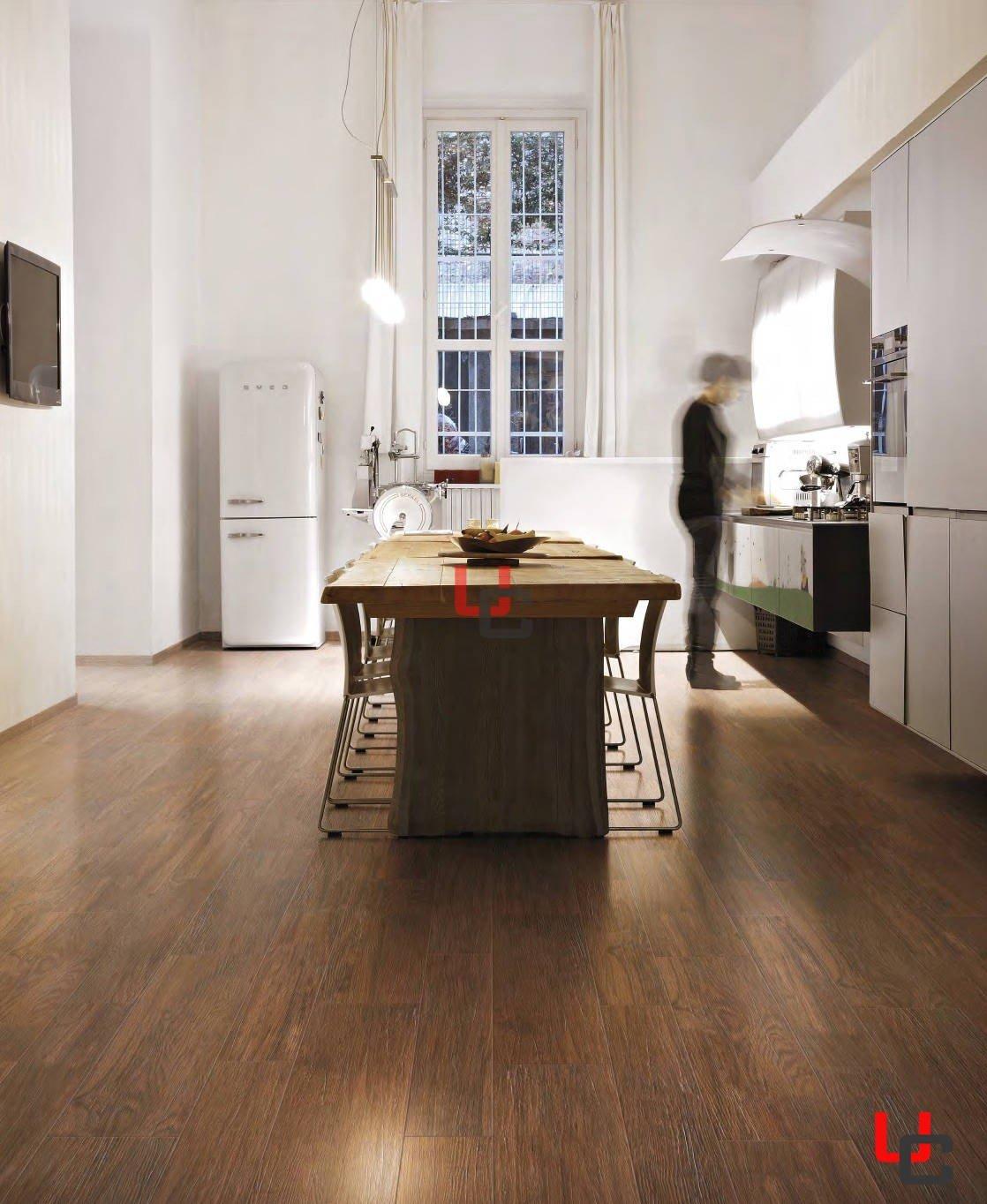 Immagini Gres Porcellanato Effetto Legno cerim serie charme naturel brun 24x96,3 rettificato gres porcellanato  effetto legno
