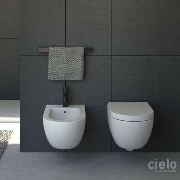 Sanitari Ceramica Cielo Prezzi.Ceramica Cielo Serie Enjoy Keep Clean Sanitari Sospesi Soft Close