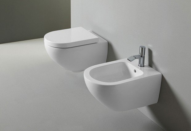 Ceramica Cielo serie Enjoy Keep clean Sanitari sospesi (Soft close ...