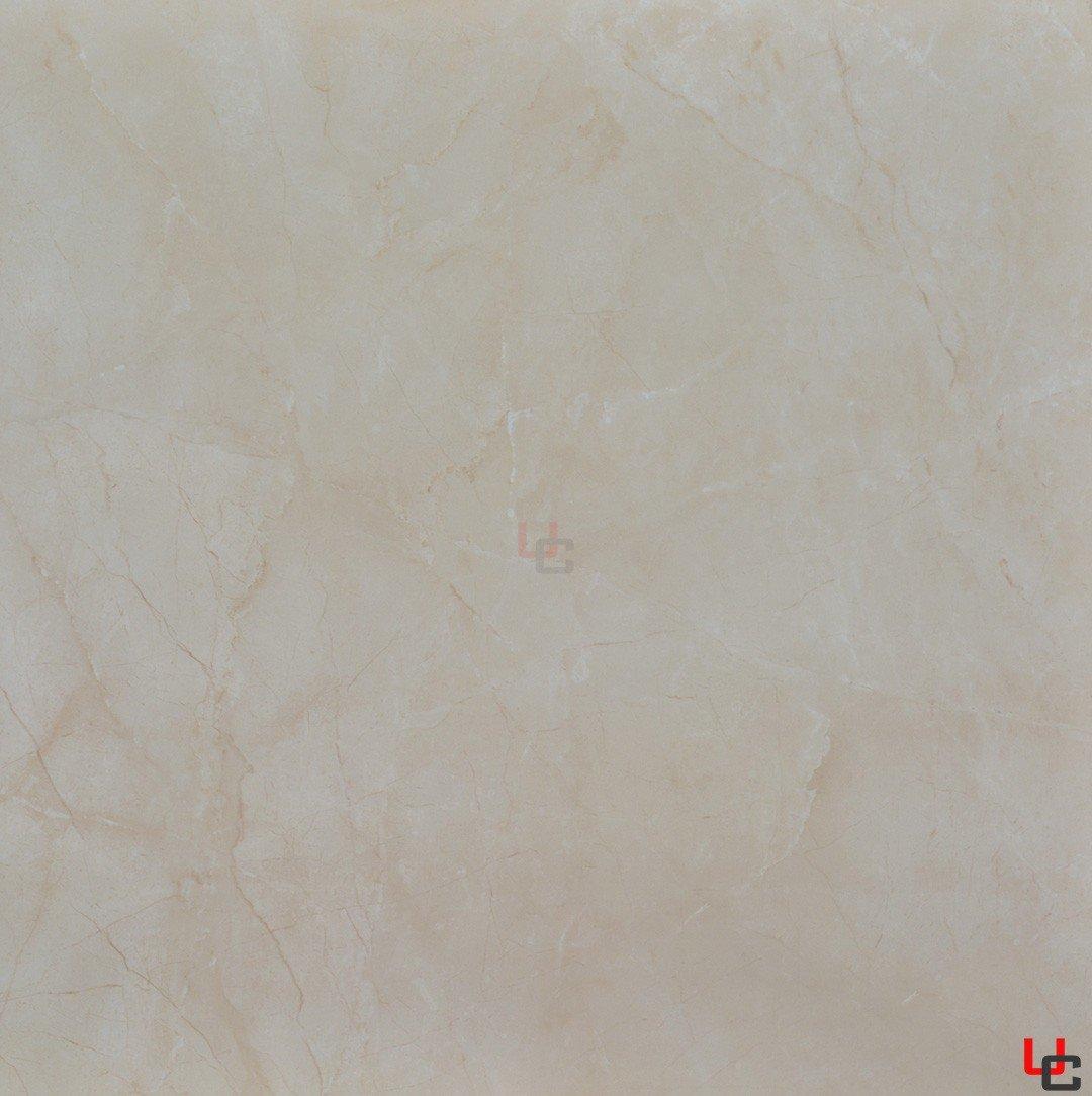 La Fenice 80x80 rettificato effetto marmo lucido beige