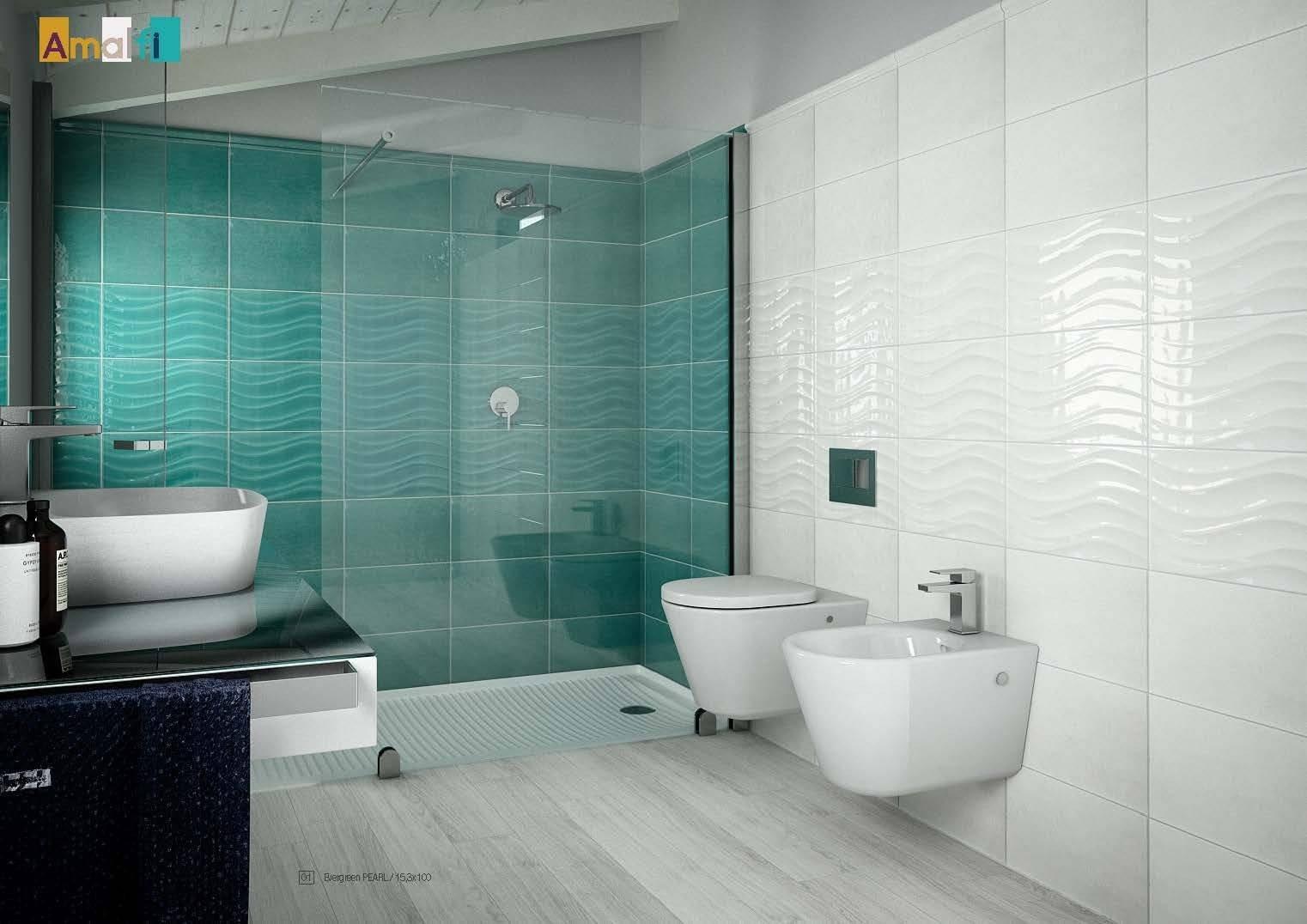 Vasca Da Bagno Amalfi Prezzo : Idea ceramica serie amalfi onda acqua 25×40 am210 universo ceramiche