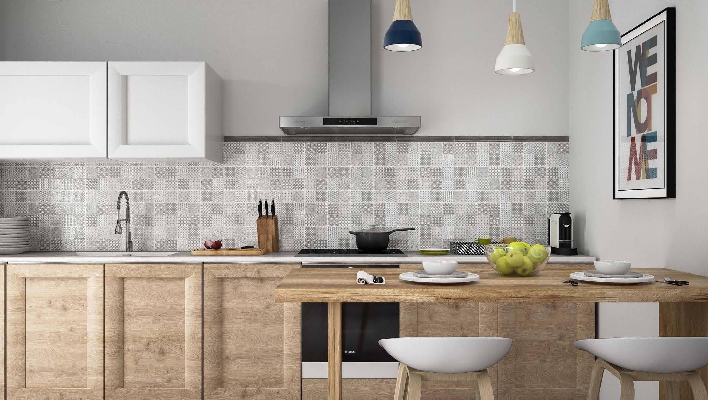 Idea ceramica serie amalfi maiolica grigio perla 25 40 for Piastrelle maiolica cucina