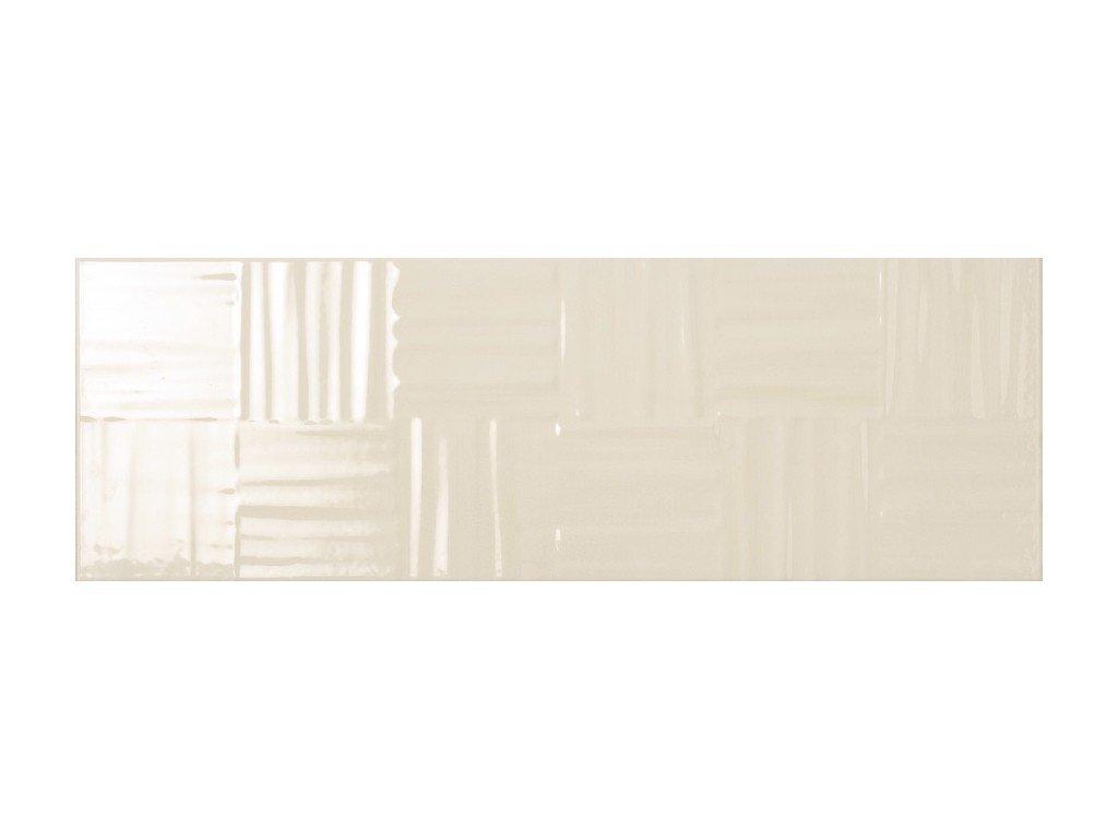 La fenice serie lumina intreccio beige 25×75 universo ceramiche