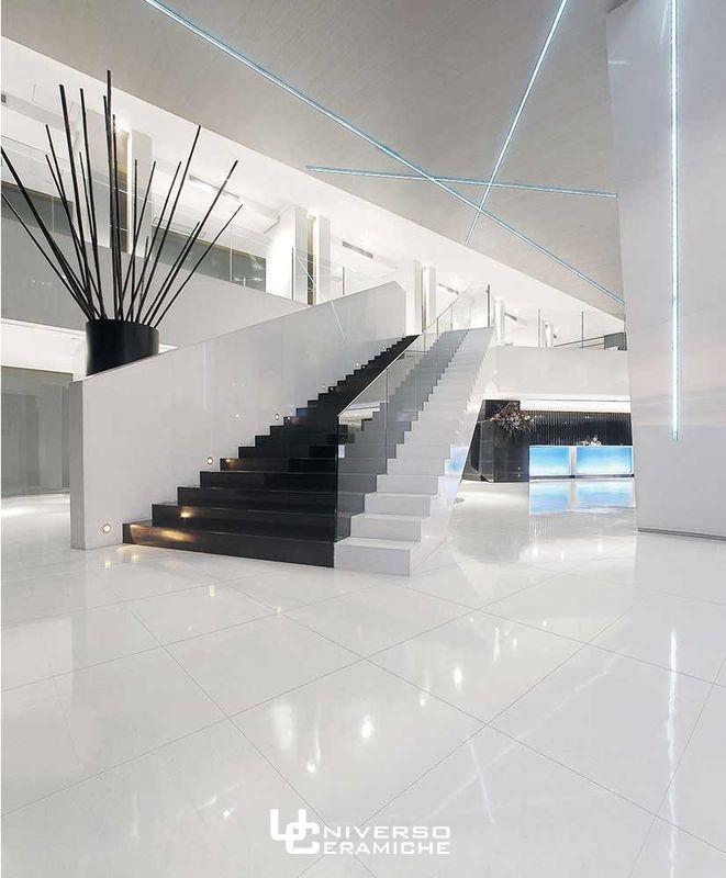 La Fenice 60×60 rettificato SuperWhite bianco lucido | Universo ...