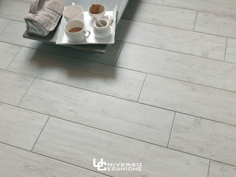 Pavimenti Finto Legno Chiaro.Sintesi Serie Liberty Bianco Gres Porcellanato 20x80 Effetto Legno