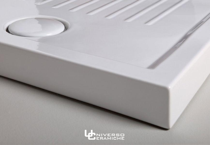 Piatto Doccia Ceramica 80x100.Ceramica Cielo Serie Settanta Piatto Doccia 80x100 H 7cm