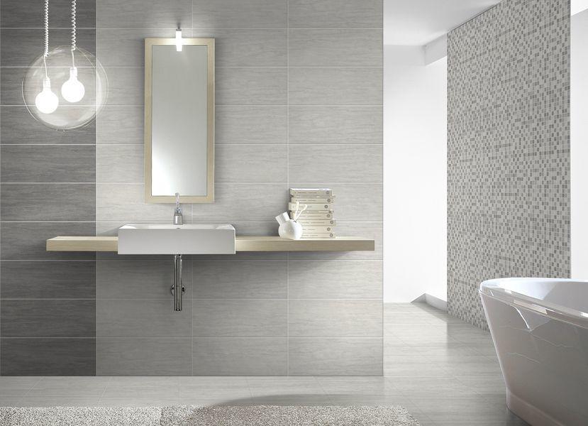 Idea ceramica serie travertino mosaico grigio cod bu